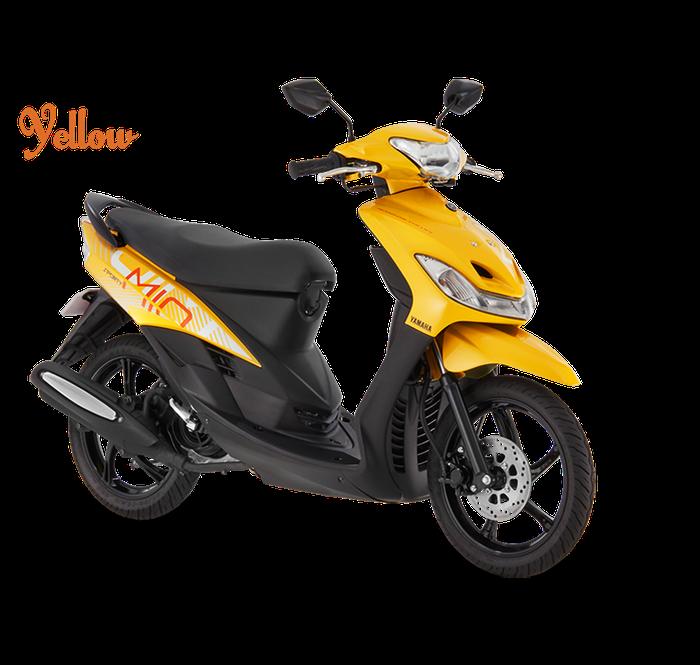 Yamaha Mio Smile warna kuning di Filipina