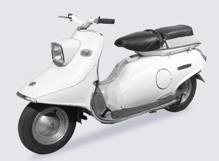 Yamaha SC-1 skuter pertama pabrikan garpu tala