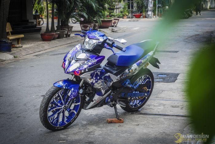 Yamaha MX King bertampang sangar