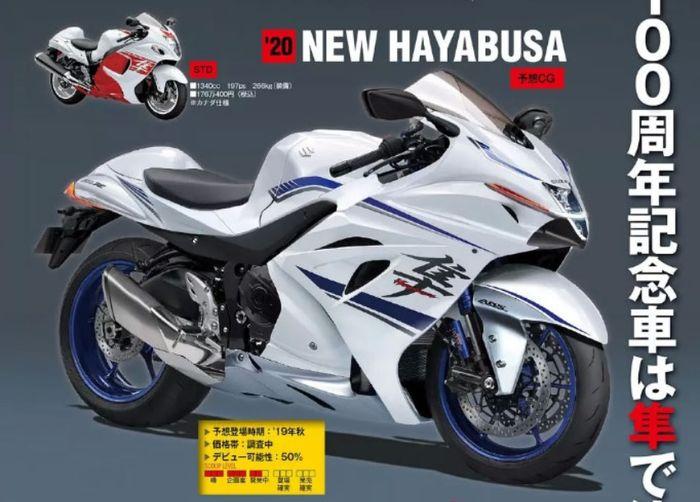 Prediksi desain motor pengganti Suzuki Hayabusa