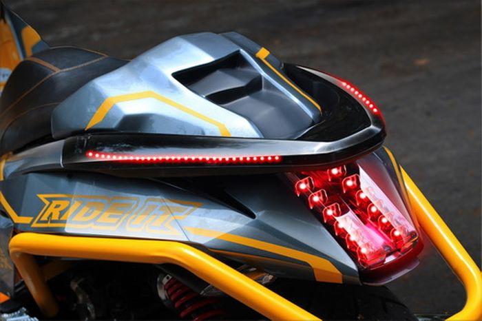 Modifikasi Honda PCX ala robot