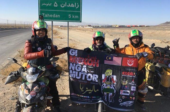 Gi Mekoh Nga Mutor bikers touring ke Mekkah