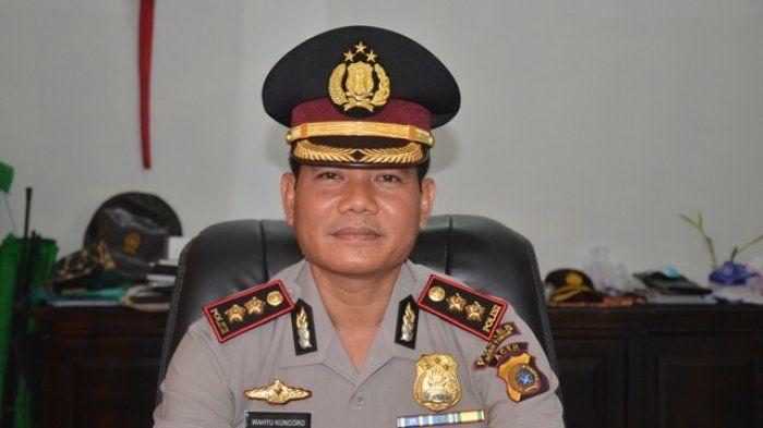 Kapolres Aceh Timur, AKBP Wahyu Kuncoro.