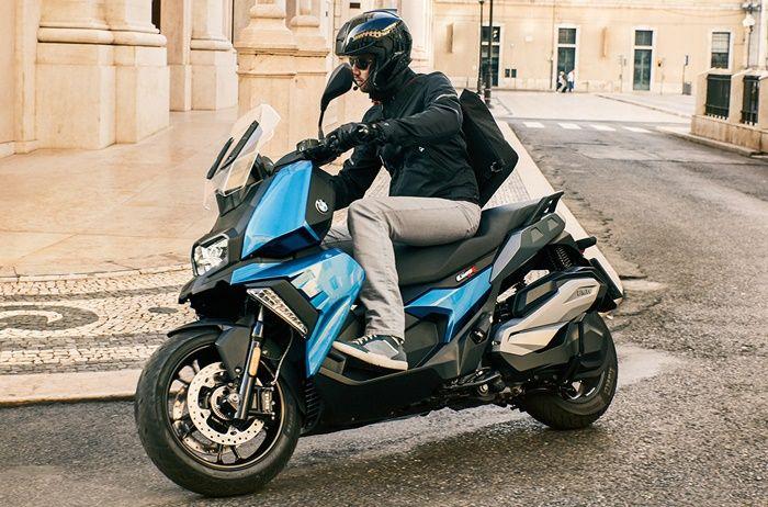 BMW C400X ditujukan untuk urban riding