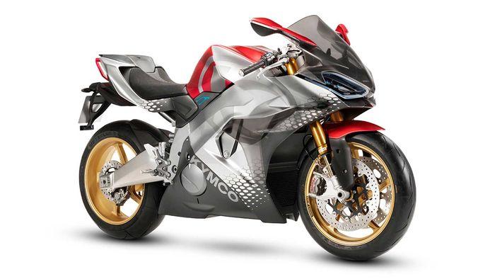 Kymco Super Nex motor sport listrik baru