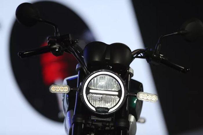 Lampu depan Honda CB190SS sudah LED
