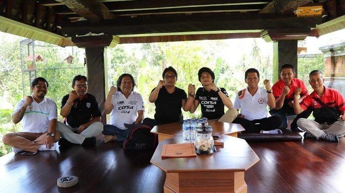 Diva Ismayana berkunjung ke rumah Bupati Badung