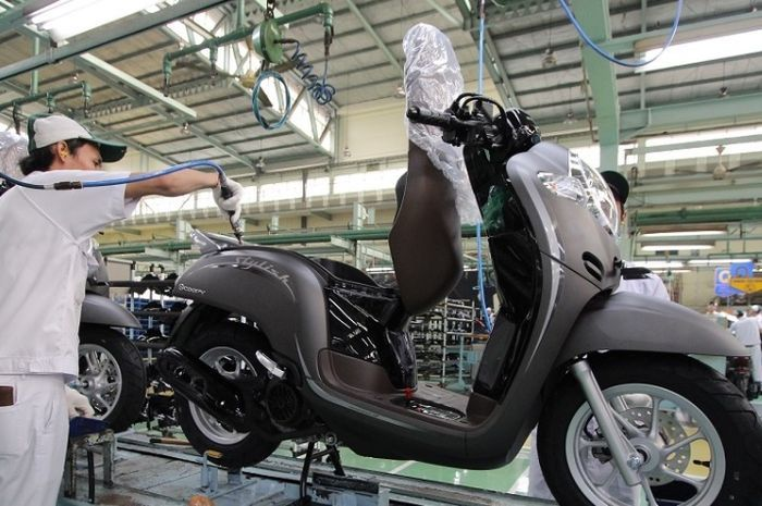 All New Honda Scoopy.