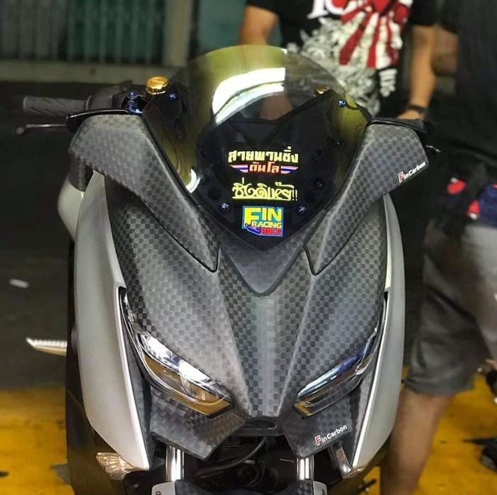 Windshield model bubble asal Thailand untuk Yamaha XMAX