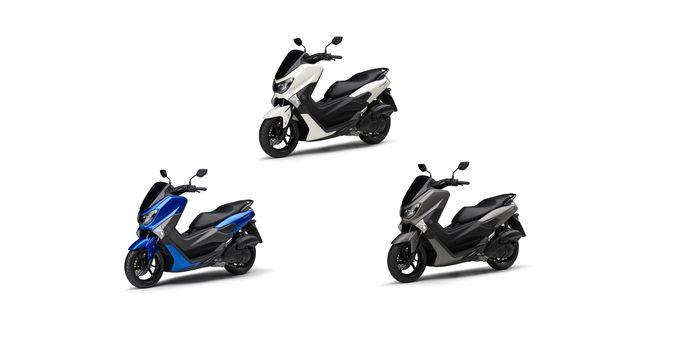 Pilihan warna Yamaha NMAX di Jepang