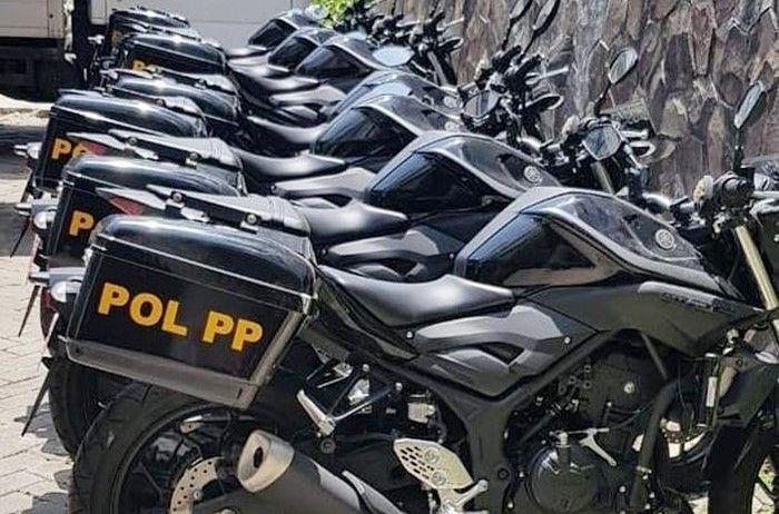 Motor baru Satpol PP viral di dunia maya