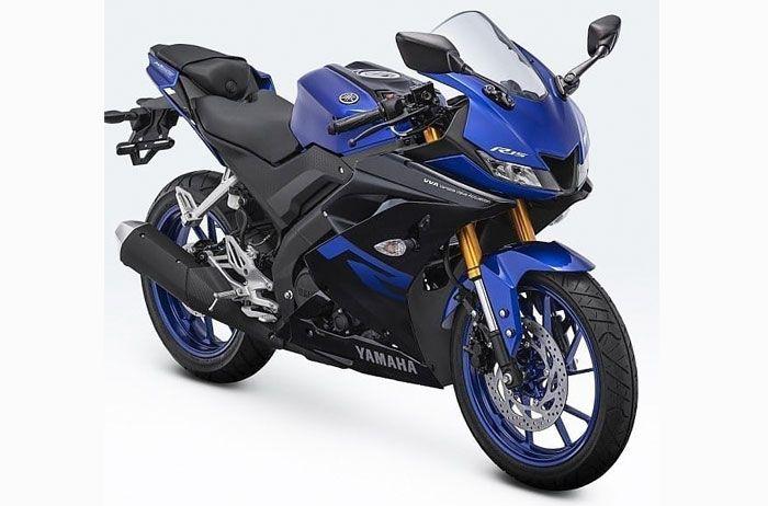 Yamaha All New R15 sekarang punyawarna baru Racing Blue