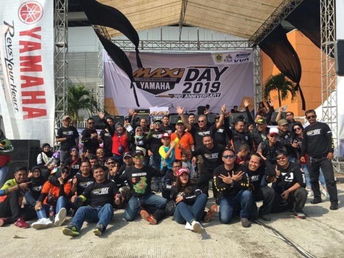 Para pengguna Maxi Series yang hadir di Maxi Day 2019