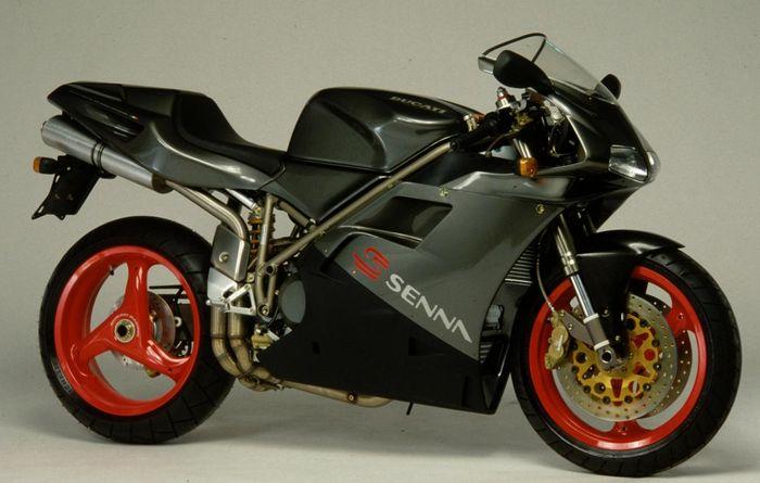 Ducati 916SP edisi Ayrton Senna dibuat terbatas