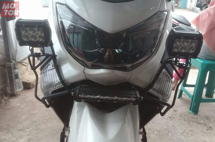 Crash guard Yamaha NMAX.