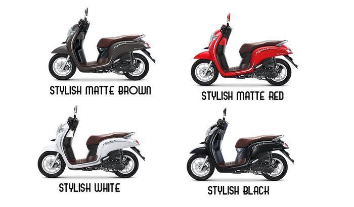 PiIlihan warna Honda Scoopy varian stylish di Indonesia