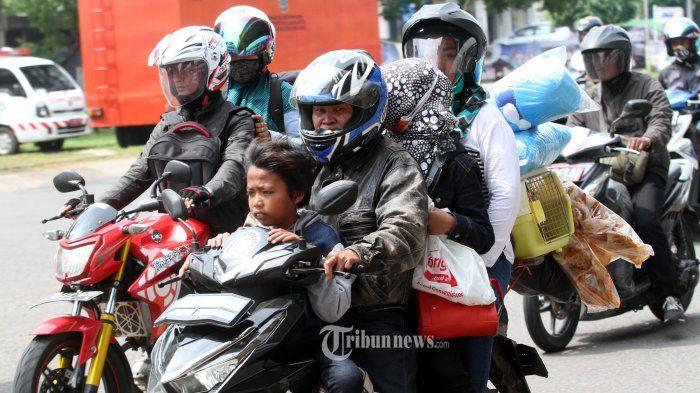 Stop Mudik Naik Motor