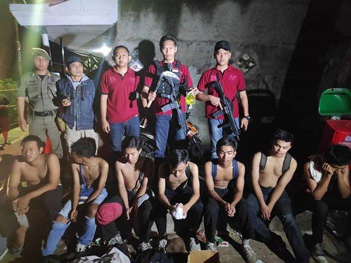Gangster dan geng motor di Lenteng Agung diciduk tim Eagle One