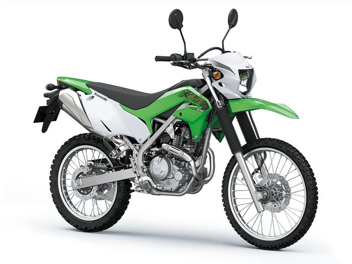 KLX230 Lime Green (Standard)