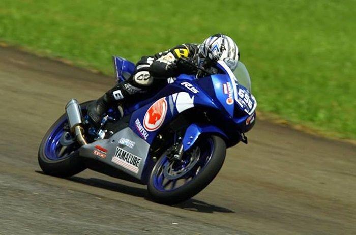 Butuh penyesuaian untuk balap pakai Yamaha R15 V3 di Sentul
