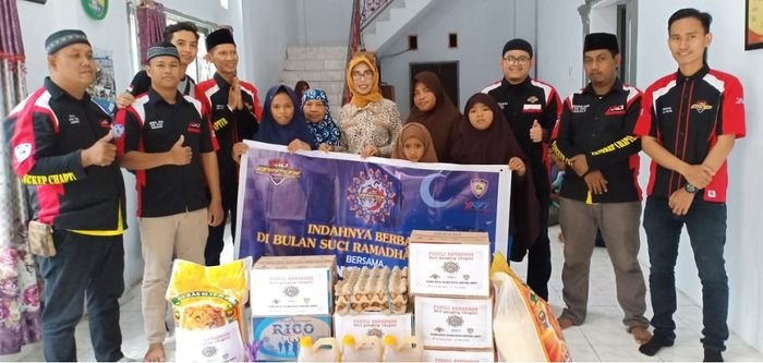ARCI Pangkep Chapter gelar baksos Ramadhan 1440 H.