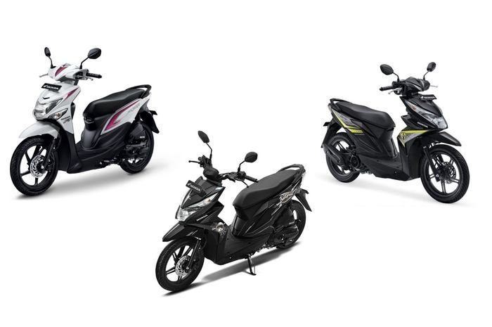 Honda BeAT series menjadi salah satu andalan AHM di segmen enrty level.