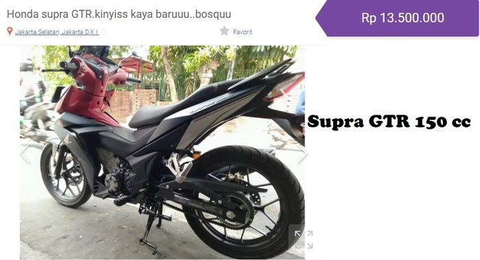 Honda Supra GTR OTR Jakarta