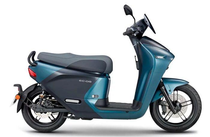 Motor listrik Yamaha EC-05.