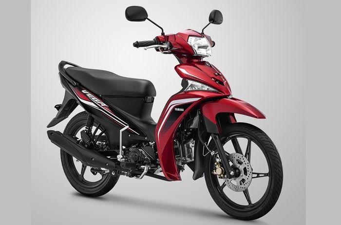 Yamaha Vega Force 2019 warna Red Metallic