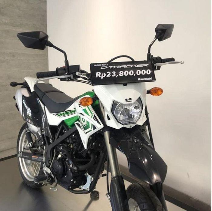 Kawasaki D-Tracker 150 murah, cuma dijual Rp 23 jutaan di dealer Kawansakti