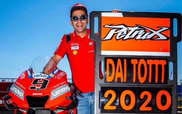 Danilo Petrucci lebih hebat dari Marc Marquez, pembalap yang belum pernah gak finis di MotoGP 2019