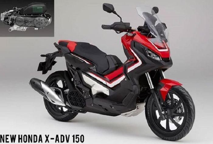 AHM akan luncurkan motor matic baru, X-ADV 150?