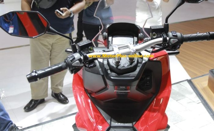 Setang Honda ADV 150 model fatbar (tanpa cover).