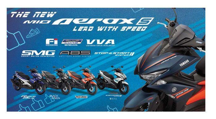 Di Filipina Yamaha Aerox masuk dalam keluarga Mio