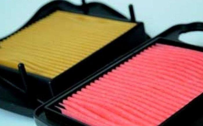 Filter udara ada tipe basah dan kering