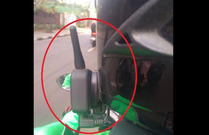 Cara menggunakan intercom,alat buat ngobrol boncenger di motor
