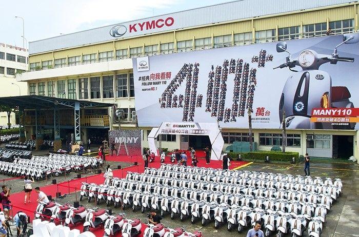 Penjualan Kymco Many 110 di Taiwan tembus 420 ribu unit
