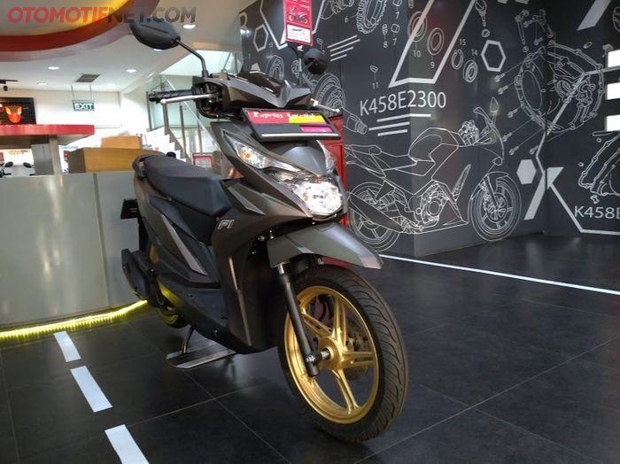 Hasil pengecatan Honda Painting Shop