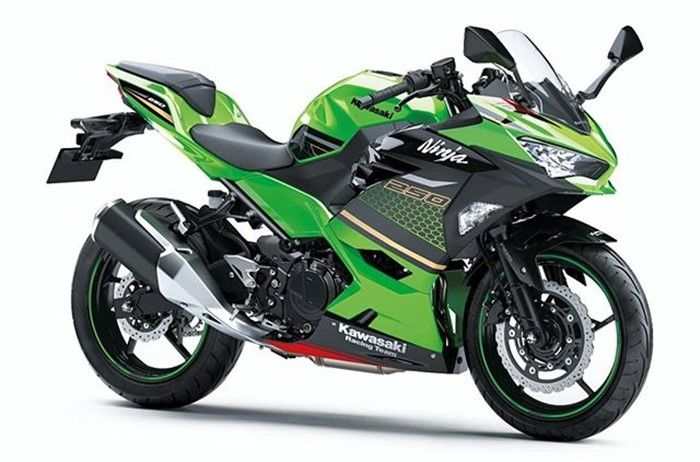Ninja 250 SE versi Kawasaki Racing Team
