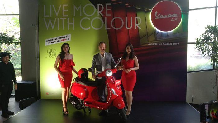 Makin Kece, PT Piaggio Indonesia Segarkan New Vespa LX 125 i-get