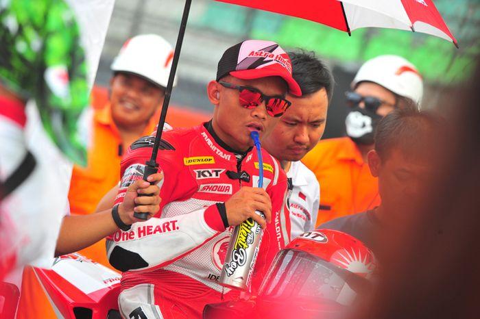 Rheza Danica Ahrens (Astra Honda Racing Team) terus timba ilmu di debut Supersport 600 cc di ARRC musim ini