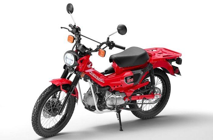 Honda CT125 Cross Cub punya desain unik