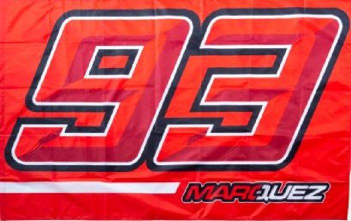 Desain bendera Marc Marquez
