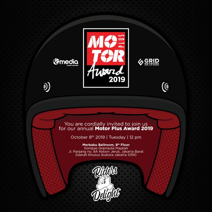 Logo MOTOR Plus Award 2019