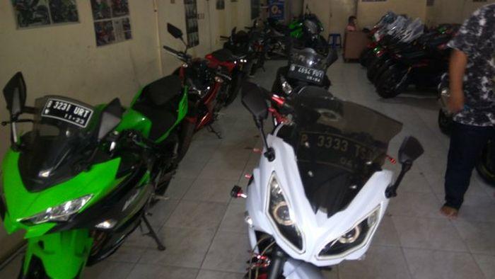 Motor sport 250 cc besutan KJV MotoSport dijual dengan harga terjangkau dan banyak pilihan.