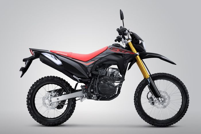 Desain baru CRF150L warna Extreme Black