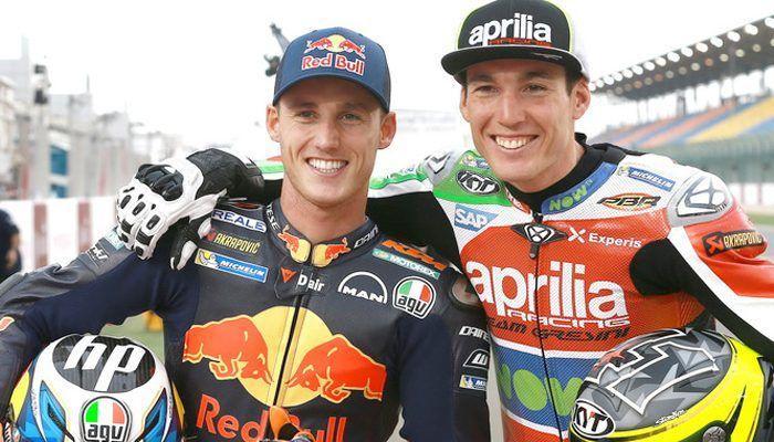 Pol Espargaro dan Aleix Espargaro merupakan pembalap MotoGP kakak beradik.