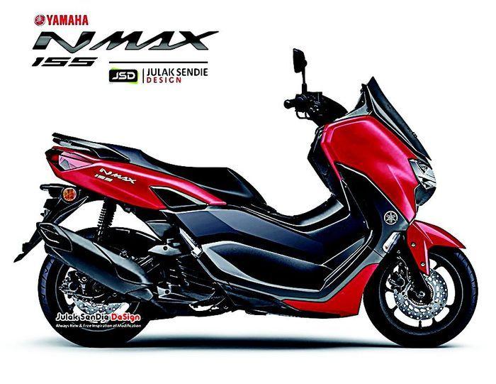 Yamaha NMAX baru 2020.