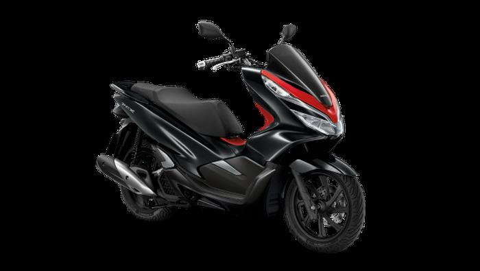 Honda PCX 150 Thailand dual tone hitam-merah