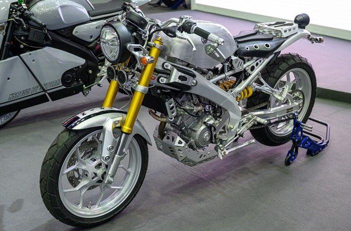 Gaya cafe racer modern dipilih Morin Racing untuk Yamaha XSR155